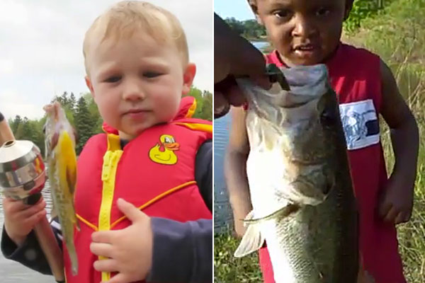 Videos - Kids Catching First Fish